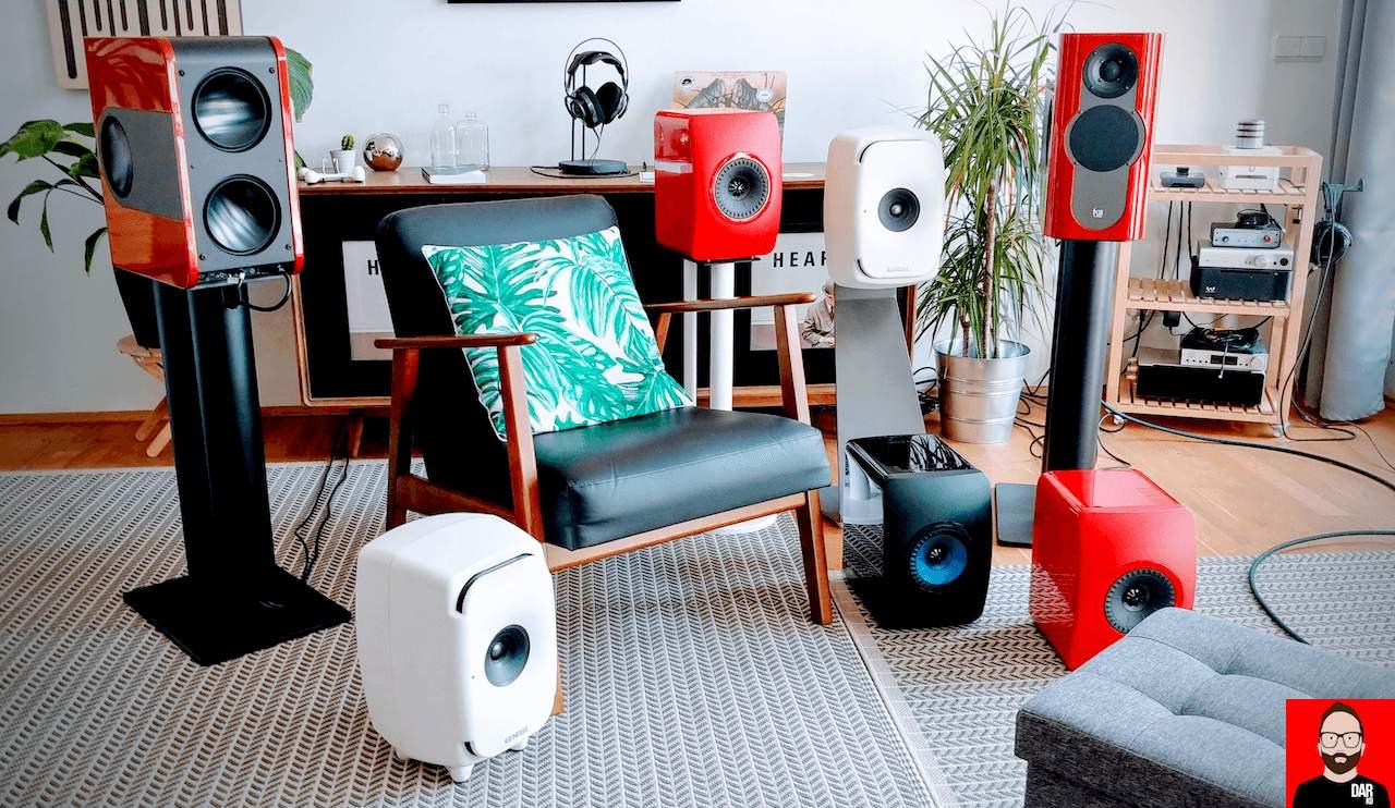 głośniki podstawkowe monitory