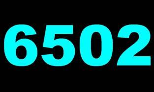 Rysunek 2. Kolor biały o temperaturze 6502K.