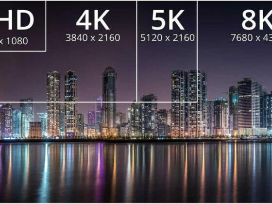 różnice 8K a 4K